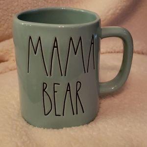 Rae Dunn Mama Bear mug- aqua